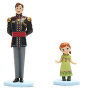 King Agnarr And Toddler Princess Baby Anna Cake Topper Dad Daughter Figures Frozen