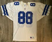 Vintage 90s Dallas Cowboys Michael Irvin 88 Russell Nfl Football Jersey Size 44