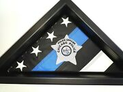 Chicago Police Star-thin Blue Line Law Enforcement