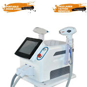 2 In 1 755nm 808nm 1064nm Diode Hair Removal Tattoo Scar Acne Removal Machine