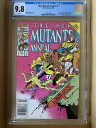 New Mutants Annual 2 Cgc 9.8 White Pages 1st U.s. Appearance Of Psylocke