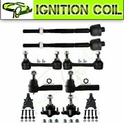 Fits Chevrolet Colorado 2004-2006 2wd Suspension Ball Joint Front Tie Rod 10pcs