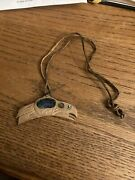 Handmade Southwestern Indian Necklace Opal Sid Bell Personal Estate Raven 1995