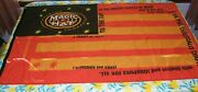 Magic Hat Brewing Company Flag Large 35x57 Beer Promo New Stars And Stripes