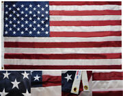 Valley Forge Usa 50 Star 3x5 3and039x5and039 Duratex Ii Tricot Knit Poly Embroidered Flag