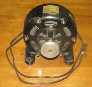 Holtzer Cabot Pancake Motor - Excellent Cosmetic Condition - Runs Well