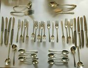 Set Of Towle Silver Flutes Sterling Silver Service For 8