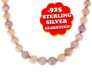 Honora 12.0mm - 14.0mm Ming Cultured Pearl Sterling 18 Necklace