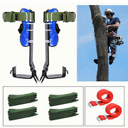 Multipurpose Tree Climbing Set Spikes Spurs Irons Outdoor Claw Tool