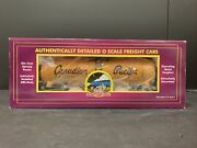 Mth Premier 20-96038 Canadian Pacific 400228 Tank Car New In Box M.436