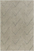 Surya Lenox Hand Knotted Area Rug 4and039 X 6and039 Lnx4000-46