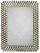 Jamie Young Honeycomb Mirror In Champagne 7hone-micp