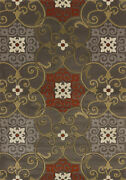 United Weavers Contours 7and03910 X 10and0396 Grey Oversize Rug 702 28772 912