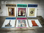 The Antique Dealer And Collectors Guide Magazines X6 1961 - 1962