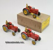 Dinky Toys 27a Massey Harris Trade Pack