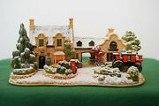 Lilliput Lane Snow Cottage The Old Forge At Belton Mint In Box With Deed.