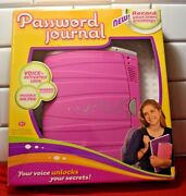 Password Journal Girl Tech Y2569 New In Box Voice Activated Invisible Ink