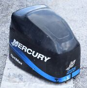 225hp Mercury Optimax Cowling Blue Decals Hood Engine Cover Cowl