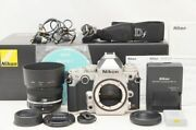 【shutter Count 1050】nikon Df Camera Df 50mm F1.8g Special Edition Kit Silver