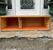 Vintage Lundby Dollhouse Bottom Piece To House Basement Wooden Rare 60s