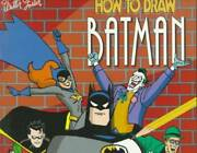 How To Draw Batman Dc Comics How To Draw Books - Paperback - Good