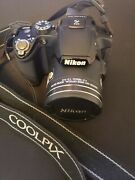 Nikon Coolpix P510 16.1mp Digital Camera - Black. Tested And Working New Battery.andnbsp