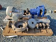 Durco 7.5 Hp Stainless Steel Centrifugal Pump Package