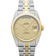 Tudor Date Day 76213-0016 Champagne Dial Menand039s Watch Genuine Freesandh