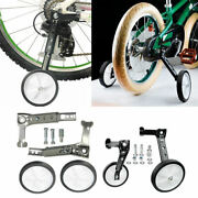 Pair Of Kid Bike Stabilizers Filled Wheels For 16-24 And039and039 Cycle Bikes Learn