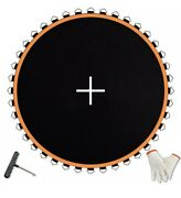 14ft Trampoline Mat 150 Jumping Surface With 72 V-ring Replacement Spring Spare