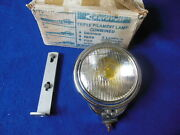 Nos Raydyot Fog Lamp Clear Fluted Glass Amber Bulb Riley Rover Mg Alvis Tr Dl100