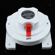 12v /24v Dual Battery Selector Switch 4 Positions For Boat Marine Rv Industrial