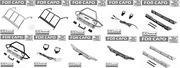 Metal Front +rear Bumper+side Pedal+rear Roll Cage For Capo Jkmax Rc Parts