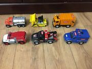 6 X Vintage Tonka Trucks Old Classic Collectables Toys