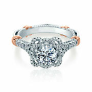 Natural 0.95 Ct Stunning Diamond Engagement Rings Solid 14k White Gold Size 6 7