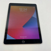 Apple Ipad 5th Gen. 32gb Wi-fi 9.7in Space Gray A1822 Bad Home Button- For Parts