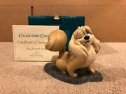 Wdcc Lady And The Tramp - Peg Dog Pound Diva + Box And Coa