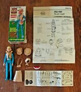 The Johnny West Series Josie West Cowgirl In Original Box W/accessories By Marx