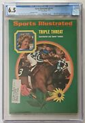Sports Illustrated 1973 Secretariat Subscription Cgc 6.5 Only 1 Graded Higher