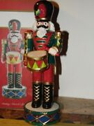 Fitz And Floyd Holiday Nutcracker New In Box
