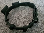 Bianchi Accumold Nylon Police Duty Belt With Accessories - Size 40 - 45