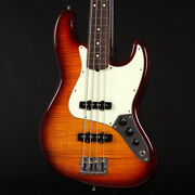 Fender Exotic Wood Collection American Professional Jazz Bass Fmt Aged W/case