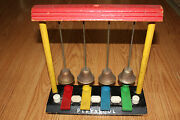 Rare Vintage 1930and039s Playskool Wood Childand039s Piano Toy
