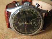 Unique Vintage Military Crysler Chronograph Orig. Cond. Ww2 Period 1940and039