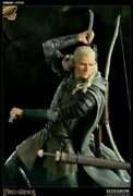 Sideshow / Weta Exclusive Lord Of The Rings Legolas Figure Statue 1 Of 350 Nisb