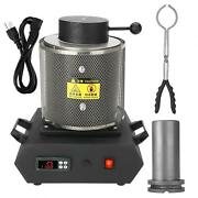 1kg Automatic Electric Melting Furnace Gold Metal Aluminum Casting Crucible Tool