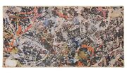 And039convergenceand039 By Jackson Pollack 1968 500+ Pc Jigsaw Puzzle/box By Springbok Ny