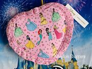 2021 Stoney Clover Lane Disney Parks Never Stop Dreaming Ruffle Heart Pouch