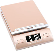 Accuteck Gold 86lbs Digital Shipping Postal Scale With Batteries And Ac Adapter