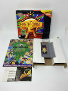 Earthbound Nintendo Snes Complete - Authentic - Tested - No Stickers
